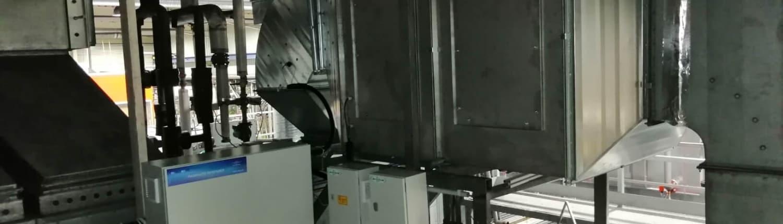 Ipari, levegőt párásító berendezés